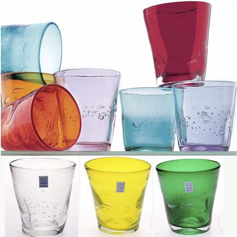 Bicchieri e cristalleria verona jolly for Bicchieri colorati